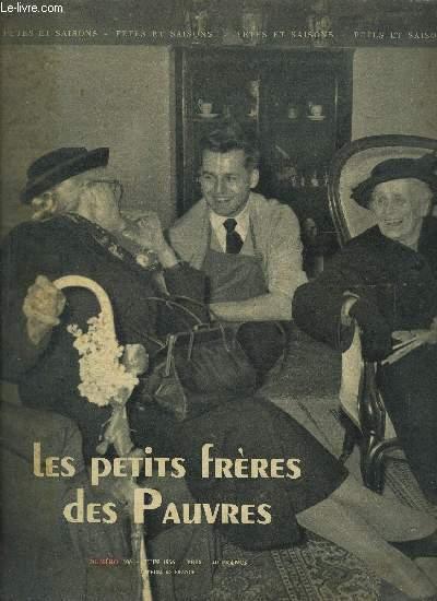 FETES ET SAISONS N°106 - JUIN 1956 - LES PETITS FRERES DES PAUVRES