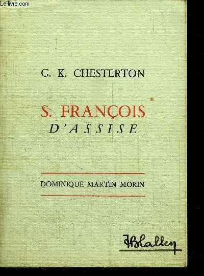 S. FRANCOIS D'ASSISE