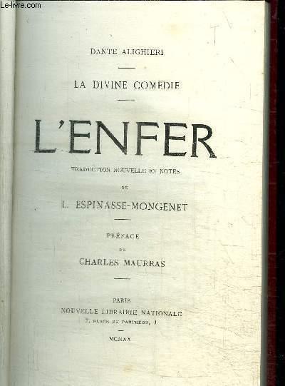 LA DIVINE COMEDIE - L'ENFER