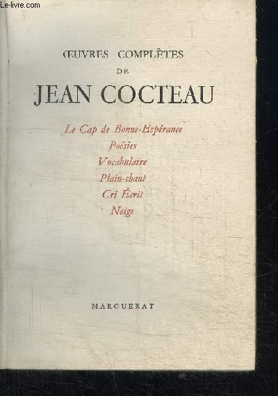 OEUVRES COMPLETES DE JEAN COCTEAU VOL. III