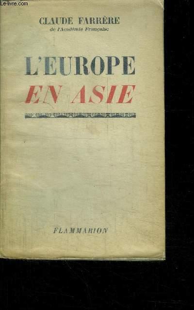 L'EUROPE EN ASIE