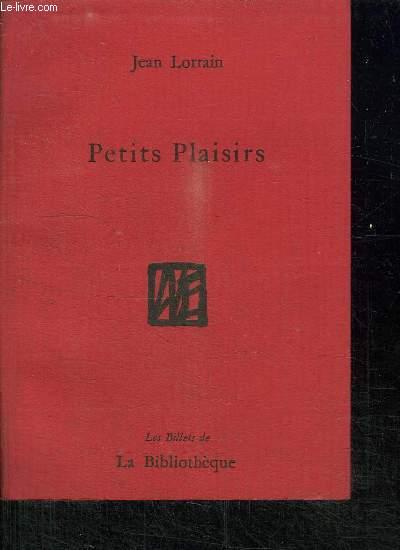 PETITS PLAISIRS