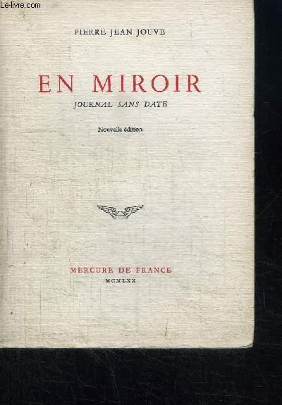 EN MIROIR - JOURNAL SANS DATE
