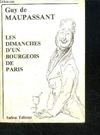 LES DIMANCHES D'UN BOURGEOIS DE PARIS