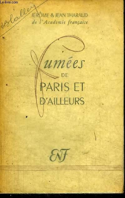 FUMEES DE PARIS ET D'AILLEURS