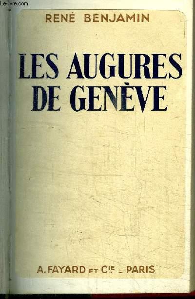 LES AUGURES DE GENEVE