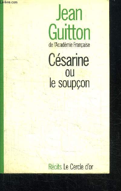 CESARINE OU LE SOUPCON