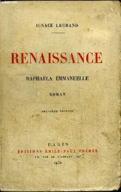 RENAISSANCE - RAPHAELA EMMANUELLE