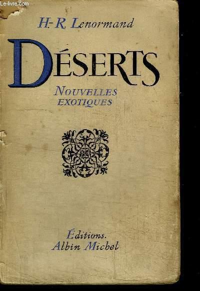 DESERTS - NOUVELLES EXOTIQUES