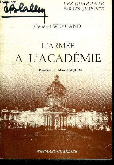 L'ARMEE A L'ACADEMIE