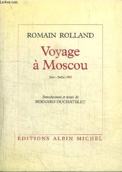 VOYAGE A MOSCOU - JUIN-JUILLET 1935 + NOTES COMPLEMENTAIRES OCTOBRE-DECEMBRE 1938 / cahier 29