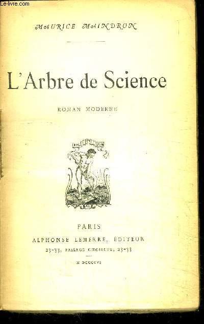 L'ARBRE DE SCIENCE