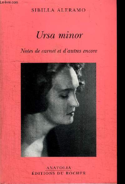 URSA MINOR - NOTES DE CARNET ET D'AUTRES ENCORE