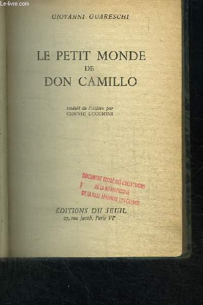 LE PETIT MONDE DE DON CAMILLO