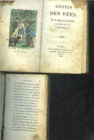 CONTES DE FEES - tome 1 et 3 en 2 volumes