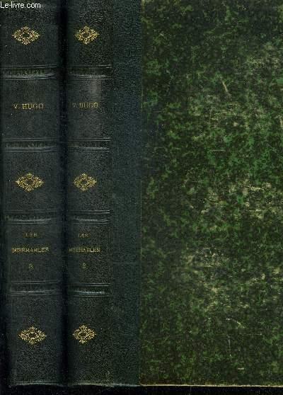 LES MISERABLES - TOMES 2 + 3 EN 2 VOLUMES