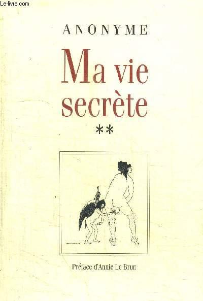 MA VIE SECRETE **