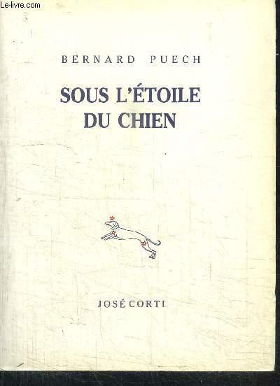 SOUS L'ETOILE DU CHIEN