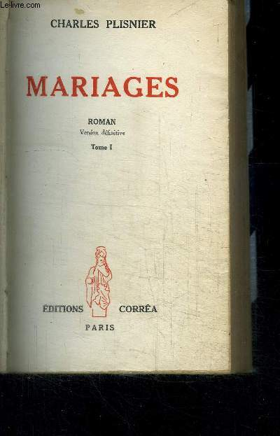 MARIAGES - tome 1