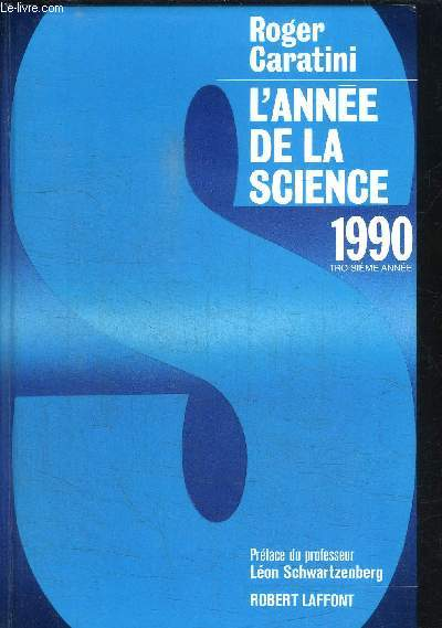L'ANNEE DE LA SCIENCE 1990 - 3e EDITION