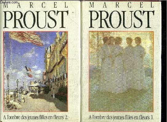 A L'OMBRE DES JEUNES FILLES EN FLEURS 1+2 - 2 VOLUMES
