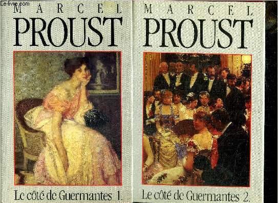 LE COTE DE GUERMANTES 1+2 - 2 VOLUMES