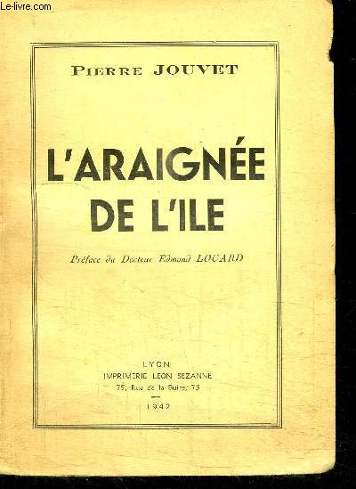 L'ARAIGNEE DE L'ILE
