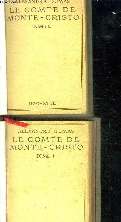 LE COMTE DE MONTE CRISTO  - TOME 1 + 2 EN 2 VOLUMES