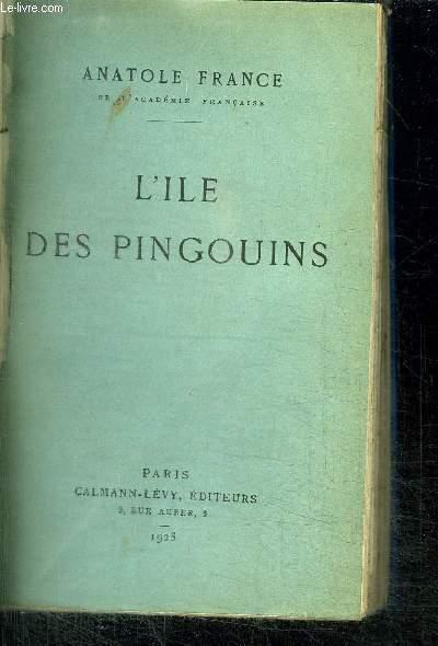 L'ILE DES PINGOUINS