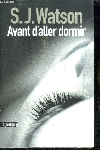 AVANT D'ALLER DORMIR