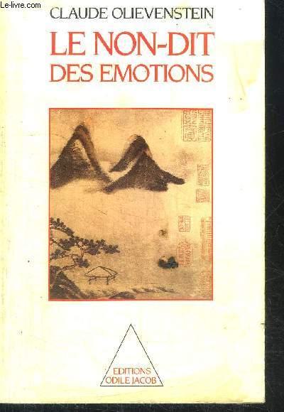 LE NON-DIT DES EMOTIONS