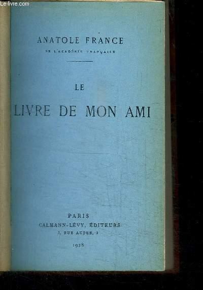 LE LIVRE DE MON AMI