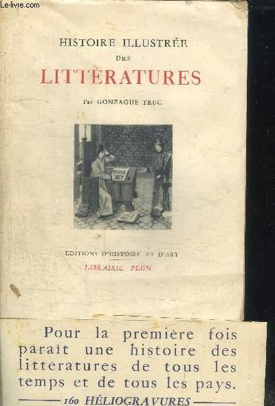 HISTOIRE ILLUSTREE DES LITTERATURES
