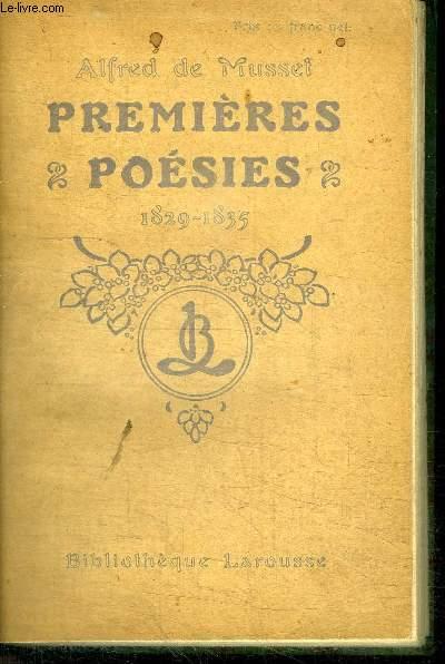 PREMIERES POESIES 1829-1835