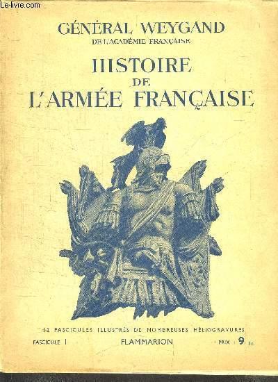 HISTOIRE DE L'ARMEE FRANCAISE - 12 FASCICULES / COMPLET