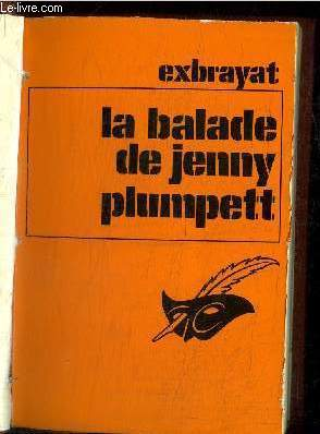 LA BALADE DE JENNY PLUMPETT / COLLECTION CLUB DES MASQUES