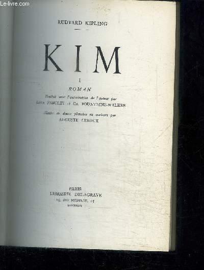 KIM - TOME 1 ET 2 EN 2 VOLUMES