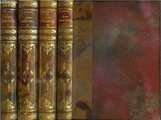 JEAN-CHRISTOPHE - TOME 1 à 4 EN 4 VOLUMES
