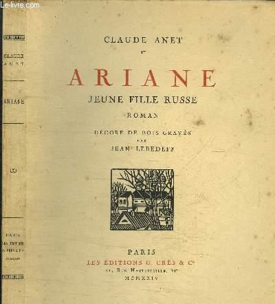 ARIANE - JEUNE FILLE RUSSE