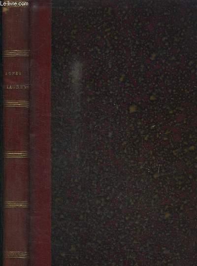 AGNES DE LAUVENS OU MEMOIRES DE SOEUR SAINT-LOUIS contenant divers souvenirs de son éducation et de sa vie dans le monde