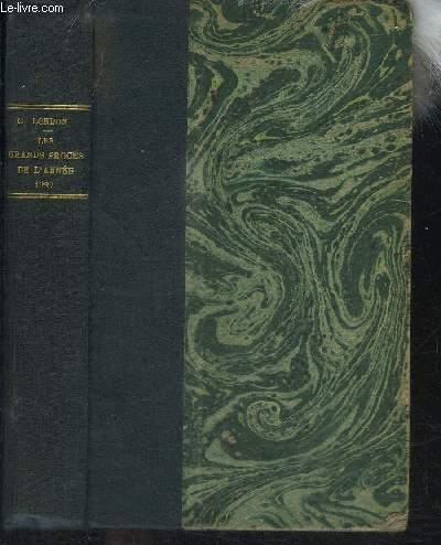 LES GRANDS PROCES DE L'ANNEE 1927