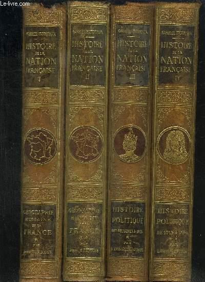 HISTOIRE DE LA NATION FRANCAISE - 15 VOL. COMPLET