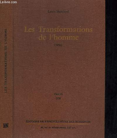LES TRANSFORMATIONS DE L'HOMME (1956)