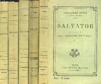SALVATOR - SUITE ET FIN DES MOHICANS DE PARIS - 5 TOMES EN 5 VOL