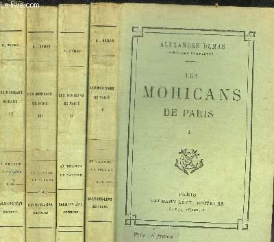 LES MOHICANS DE PARIS - 4 VOL.