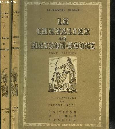 LE CHEVALIER DE MAISON-ROUGE TOME 1 + 2 EN 2 VOL.