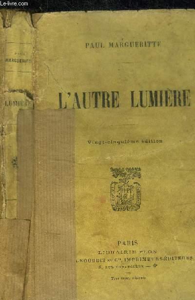 L'AUTRE LUMIERE 25e EDITION