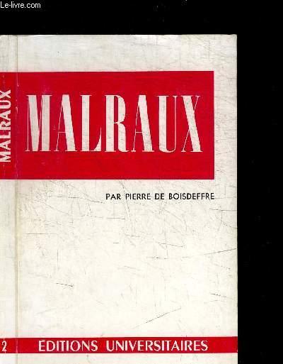 MALRAUX / COLLECTION CLASSIQUES DU XXe SIECLE N°2