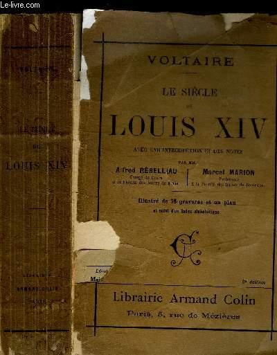 LE SIECLE DE LOUIS XIV / 2e EDITION