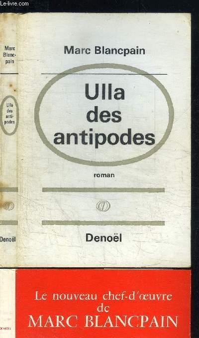 ULLA DES ANTIPODES / COLLECTION CHRONIQUES DE LA PEUR